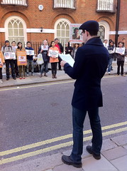 Burma Poetry Protest