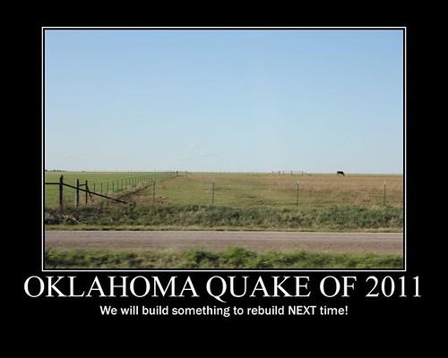 Oklahoma Quake poster