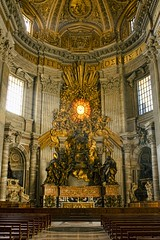 Saint Peter's Basilica (sminky_pinky100 (In and Out)) Tags: travel italy rome detail tourism church religious gold worship historical ornate vaticancity saintpetersbasilica omot