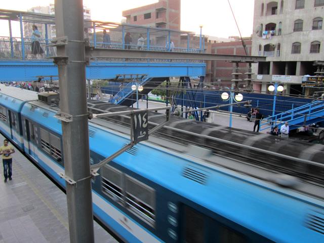 Cairo Metro Train