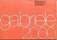 gabriele 2000