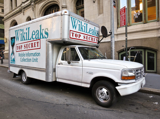 WikiLeaks Mobile Information Collection Unit