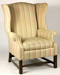 91. Wing Back Chair