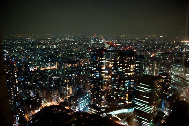Tokyo's night view