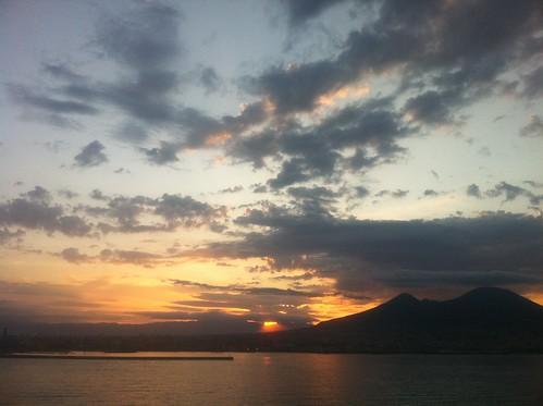 Sunrise over Mount Vesuvius 1