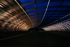 Tunnel Vision (Indigo Skies Photography) Tags: road bridge blue sky color beautiful car lights twilight colorful flickr motorway tunnel freeway stunning lovely nikond90 raychristy