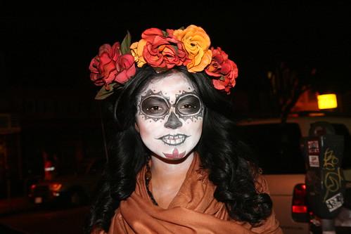 Dia de Los Muertos Painted Woman