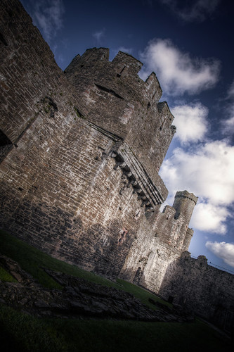825/1000 - Conwy Castle by Mark Carline