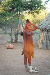 NamibiaAddition003 (Kosei.S) Tags: woman girl tribe namibia himba