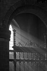 The 55th (subterraneancarsickblues) Tags: blackandwhite bw canon cathedral chapel cumbria carlisle beams incense ef50mm18ii borderregiment eos550d rebelt2i kissx4digital