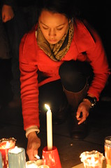 Penn State - Candle Light Vigil (Alyea Ann) Tags: night photography candlelightvigil pennstateuniversity alyeaannphotography abusedvictims