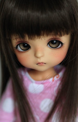 Hami-ko (Aya_27) Tags: cute yellow doll sweet special bjd custom dollfie limited haru dollie latidoll lati lrrh faceupbyandreja