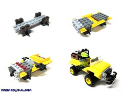 Build Jeep (Masked Builder) Tags: set dino lego academy 2012 eurobricksreviewers