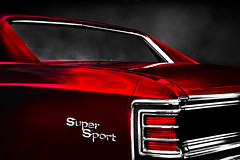 """Super sport"" (Neil Banich Photography) Tags: original reflection chevrolet car automobile artistic details rear heavymetal racing chevelle chevy chrome 1967 custom artcar hotrods ratrod autoart 1967chevelle autoreflections carscool 1967chevellesupersport picturescool neilbanichphotograhy imagescool"