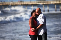 hug (J Cianfrani Photography) Tags: ocean california ca engagement sandiego sd oceanbeach ob oceanbeachpier esession blinkagain