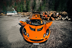 Lotus Exige (Future Photography International) Tags: horse orange france english car photo hp nikon shoot power lotus d 8 200 28 af gt nikkor savoie 80 74 f28 supercar ch haute 80200mm 80200 exige 80mm 200mm afd d80 hypercar worldcars