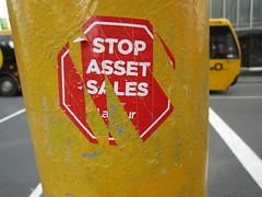 Stop Asset Sales