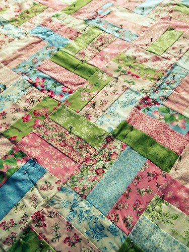 quilt for Patch Fabrics class