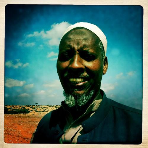 Mr Ismail Somaliland  thru Iphone Hipstamatic