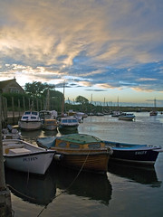 Blakeney Evening (Gerry Balding) Tags: sunset england boats evening coast norfolk eastanglia blakeney northnorfolk thebestofday gnneniyisi blakeneyharbour