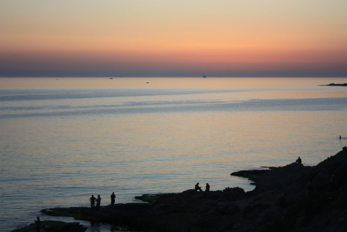 Latakia, sunset