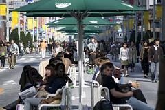 (quashlo) Tags: tokyo ginza    chuodori   pedestrianization pedestrianizedstreet  chuoward pedestrianizedzone