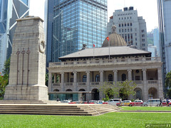 The Cenotaph, the fomer Supreme Court and former Legislative Council (Canadian Pacific) Tags: building architecture hongkong central 1912 cenotaph 1910s  hongkongisland supremecourt centraldistrict   legislativecouncil fromer    ap1140284
