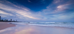 Burleigh Beach, Gold Coast (James.McGregor) Tags: ocean longexposure sunset beach canon afternoon australia queensland 1020mm goldcoast burleigh sigmalens burleighheads 550d