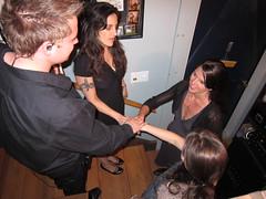 Pre-show ritual