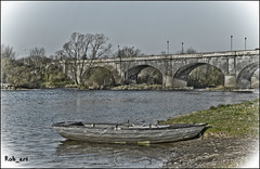 The Old Bridge - Kelso (Constructed - 1800-03) (Rob_ert) Tags: bridge scotland panasonic kelso rivertweed scottishborders paintedeffect coppercloudsilvernsun allnaturesparadise fz45