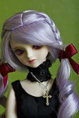 Segi in Fer (alington) Tags: abjd bjd black clothing dollheart fairyofcolor fer normalskin peakswoods sd segi