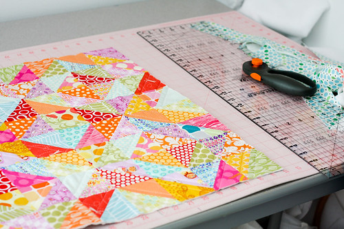 Warm Cool Quilt Along - Quilting by jenib320