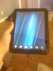 Unboxed and set up my HP TouchPad