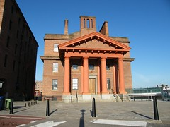 The old Customs House at the Albert Dock Liverpool (Peter Wick) Tags: house news liverpool dock albert granada studios formerly customs the at