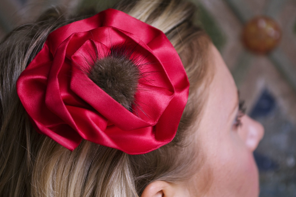 sammy davis vintage hairbow
