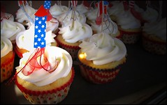 Independence Day Cupcakes (greenthumb_38) Tags: california usa train fireworks cupcake trainstation fourthofjuly rocket orangecounty july4th independence independenceday fullerton railfan foamer jeffreybass canong11 07042011