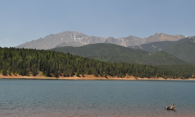 Pikes Peak in Summer