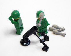 Heavy mortar (lower_torso) Tags: army lego military mortar weapon moc
