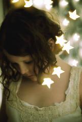 Star child- double exposure