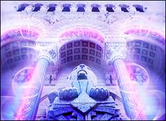 Spiritual Realm (Anthazorra) Tags: france angel religious 3d lyon god religion lion evolution lions astral façade lyons basilique yannis fourvière christianism rhonealpes cathédrâle yannisthomas basiliquestjean basiliquestjeandefourvière spiritulal