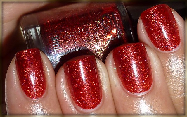 Glitter Gal - Red Sparkle