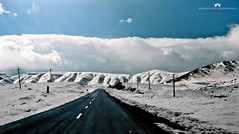 Snow (Abdulaziz ALKaNDaRi | Photographer) Tags: sky snow colors canon photography eos persian flickr shot iran hq ef 1740  2011 abdulaziz   550d  t2i  alkandari blinkagain abdulazizalkandari