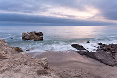 Almost Paradise (Edwin_Abedi) Tags: california sunset cloud color beach landscape malibu socal leocarillo