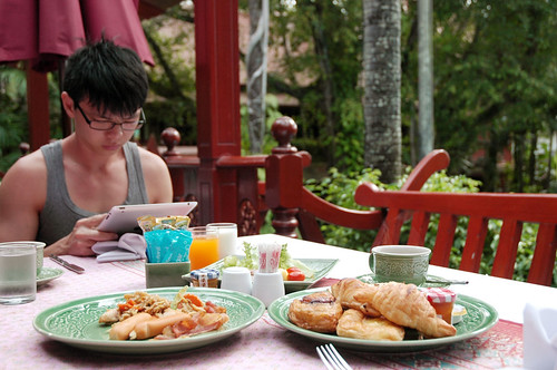 Royal Phawadee Village - Breakfast
