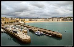 Donostiako kaia (Mikel R) Tags: puerto cielo 7d sansebastian basquecountry donostia gipuzkoa canoneos450d canon7d