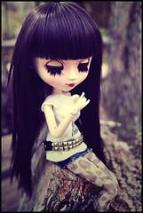 Happy Birthday!! n_n ( Z u R i ) Tags: garden outfit doll chelsea dal jp wig groove pullip blanche risa milkyway marea obitsu junplanning rewigged pullipblanche crobidoll hellcatpunk rockvintage
