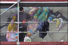 Jaw at work (Romany WG) Tags: france graffiti jaw brest dmv damentalvaporz crimesofminds