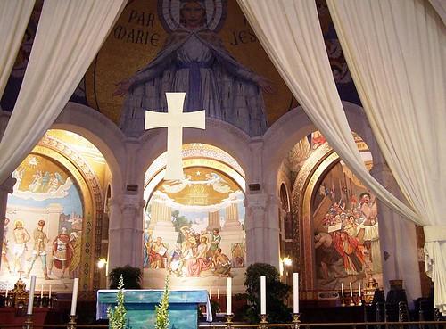 Altar de la Basilica del Rosario