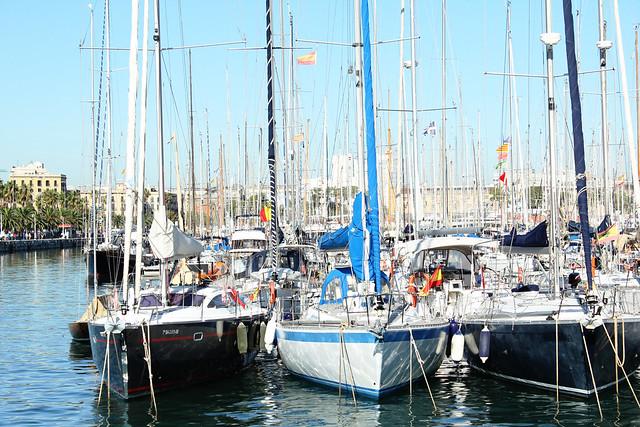 barcelona boat dock