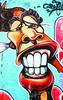 Gran Sonrisa - Big Smile (JOSEAN GOMEZ) Tags: streetart colors 35mm catchycolors colores asa400 artecallejero canoneoselan7n fotografiacallejera flickrbronze negativo35mm cvsfilm400 filckraward